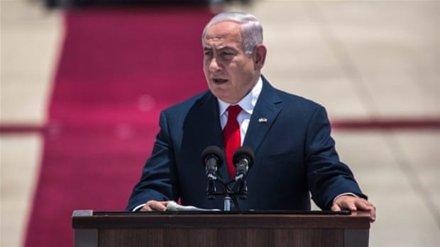 What is Benjamin Netanyahu being charged with?