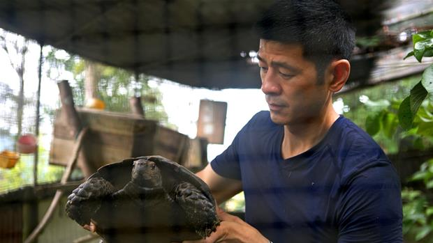 The Lizard King: Illegal Wildlife Trade's Poster Boy