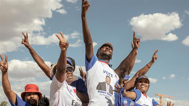 Namibia votes in tight polls overshadowed by corruption scandal