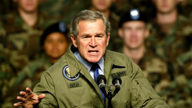 Why did Bush go to war in Iraq?