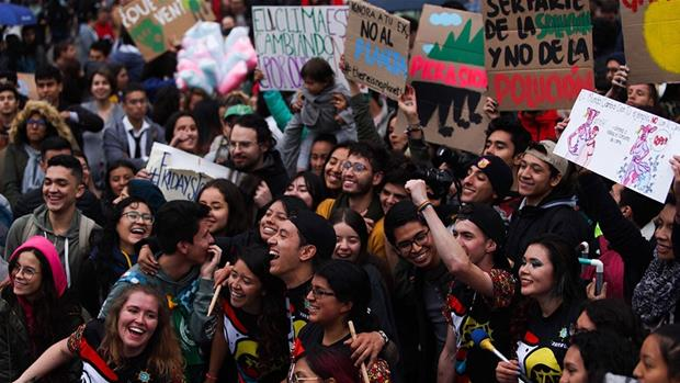 'No Planet B': Millions take to streets in global climate strike