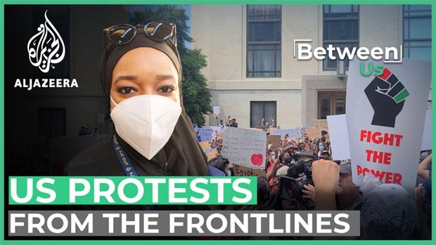 Masks on, fists up: Covering the Black Lives Matter protests