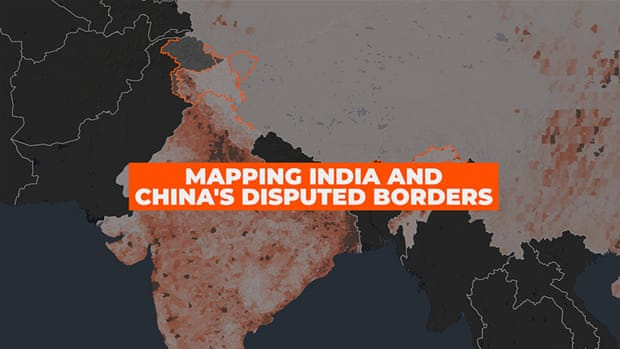 India-China border row explained in seven maps