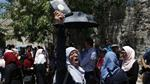 What triggered the violence at al-Aqsa Mosque?