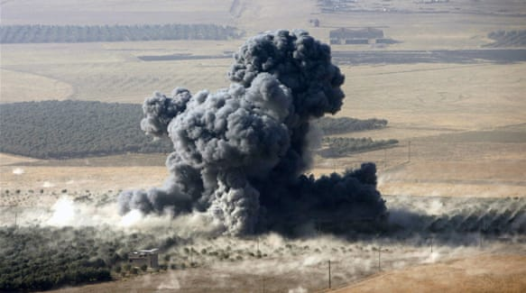 Turks fire on ISIL near Mosul