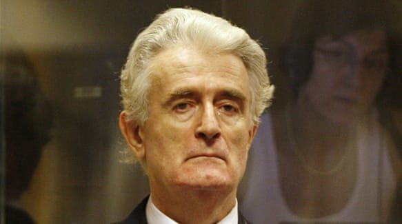 ex-serb leader karadzic guilty of srebrenica genocide