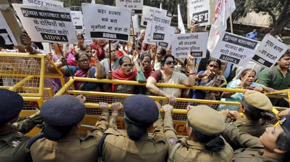 There have been other recent incidents of sexual assault involving religious men in India