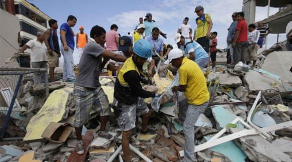 Hundreds Killed In Powerful Ecuador Earthquake Aje News