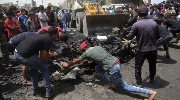 Baghdad blast kills at least 50