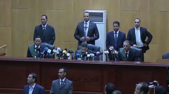 Egypt sentences five to death