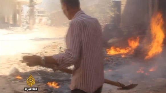 Last hospital bombed:Darava