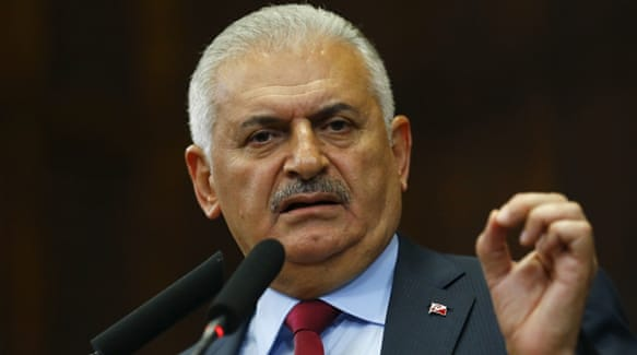Yildirim said Turkey wants to repair its ties with Egypt, after relations soured over the ouster of president Morsi [Umit  Bektas/Reuters]