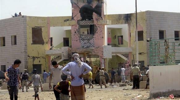 Yemen bombing by ISIS