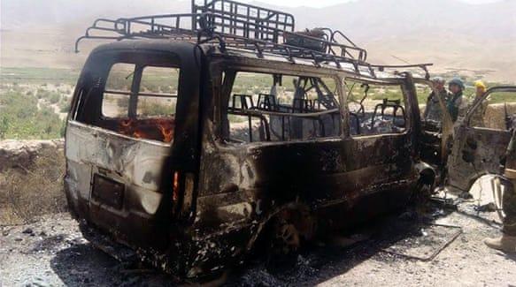 Youris convoy hit in Afghanisstan