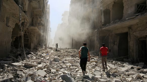 US blames Russia for Syrian barbarism