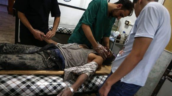 Aleppo horror