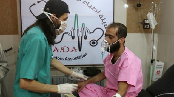 Syria Chlorine gas use investigated