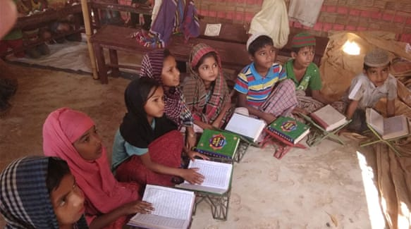 With No Formal Schools Or Jobs Young Rohingya Left In Lurch