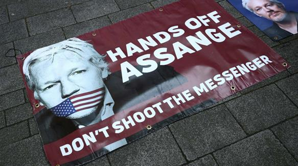 On trial: Julian Assange and journalism