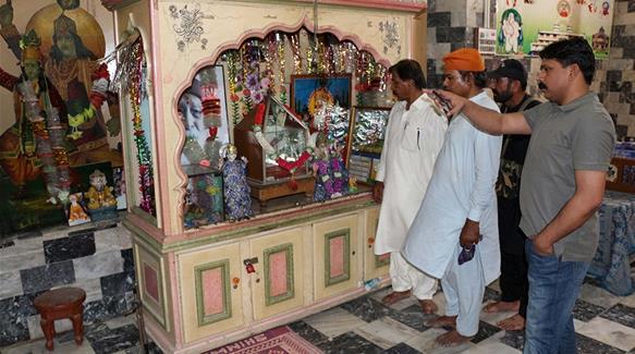 Pakistani police detain Hindu school principal over 'blasphemy'