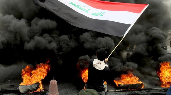 Iraq protesters block roads as they step up calls for reform