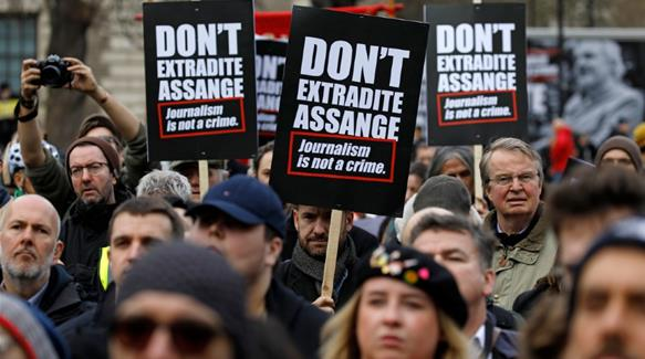 Assange extradition hearing gets underway in London