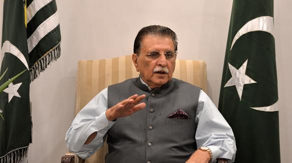 Pakistan-administered Kashmir's PM calls for 'military' action