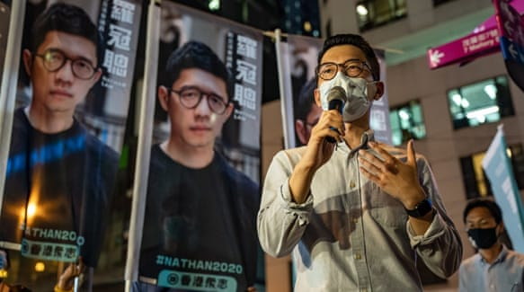 Hong Kong dissident Nathan Law says Britain new home