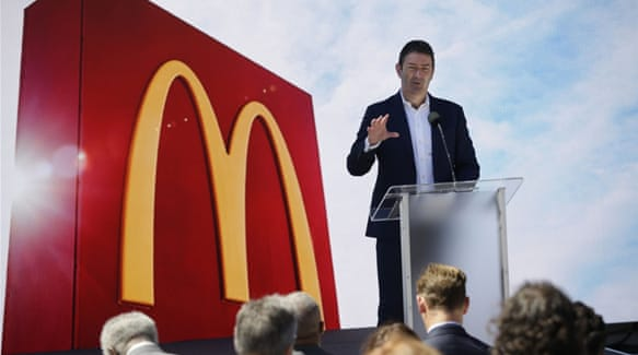 McDonald's sues former CEO to recover millions in severance pay