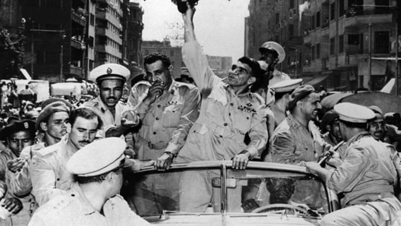 For two generations, figures like Gamal Abdel Nasser, and a kaleidoscope of national and regional commands led the effort of Arab modernisation, writes Aronson [Getty]