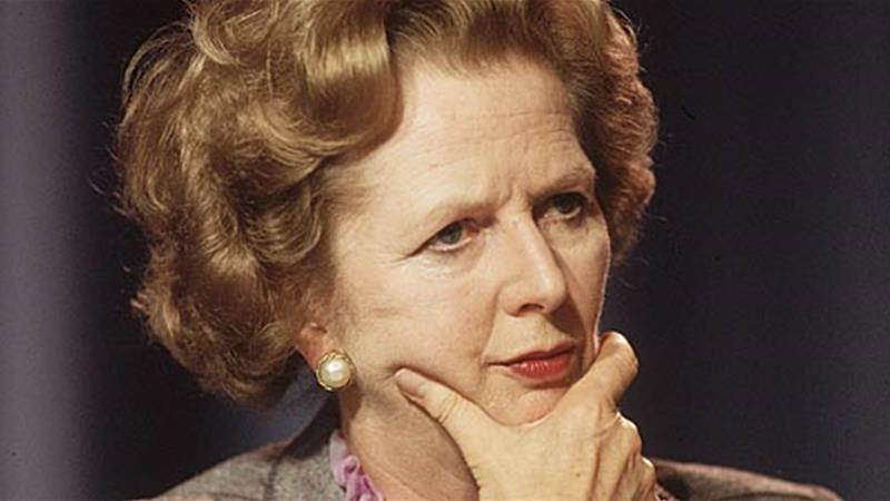 October 1985 British prime minister Margaret Thatcher looking pensive at the Conservative Party Conference in Blackpool England