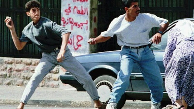 Stories from the first Intifada: 'They broke my bones'