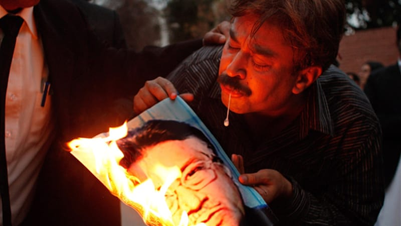 Musharraf faced widespread protestsafter calling a state of emergency in 2007[GALLO/GETTY]