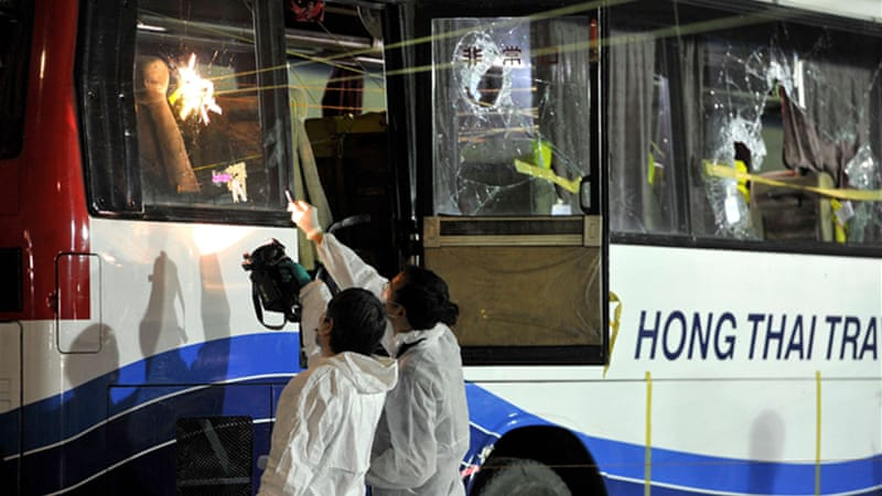 The tragedy happened in 2010 when a busload of Hong Kong tourists in Manila were taken hostage [AFP]