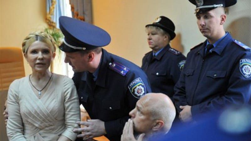 Yulia Tymoshenko is already serving a seven-year jail sentence for abuse of office, meted out in October 2011 [AFP]