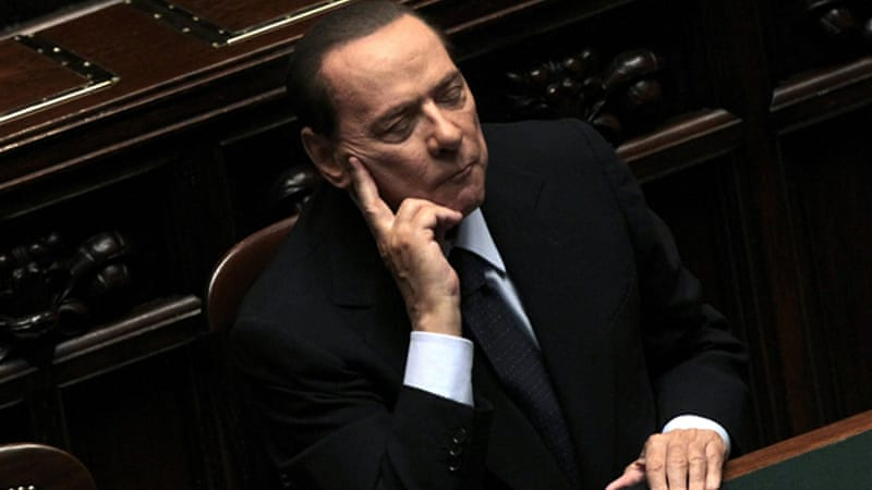 Berlusconi's ineffective leadership had aggravated the economic conditions of a key eurozone country [Reuters]