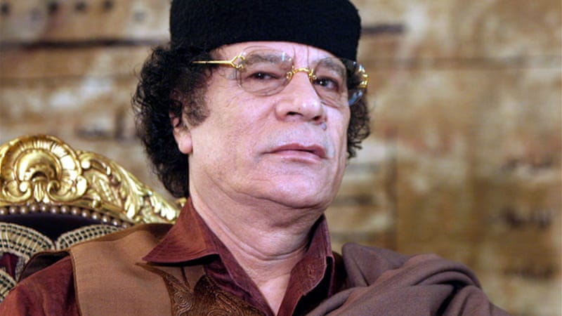 Some African intellectuals and rulers were supportive of the late Colonel Gaddafi, writes the author [EPA]