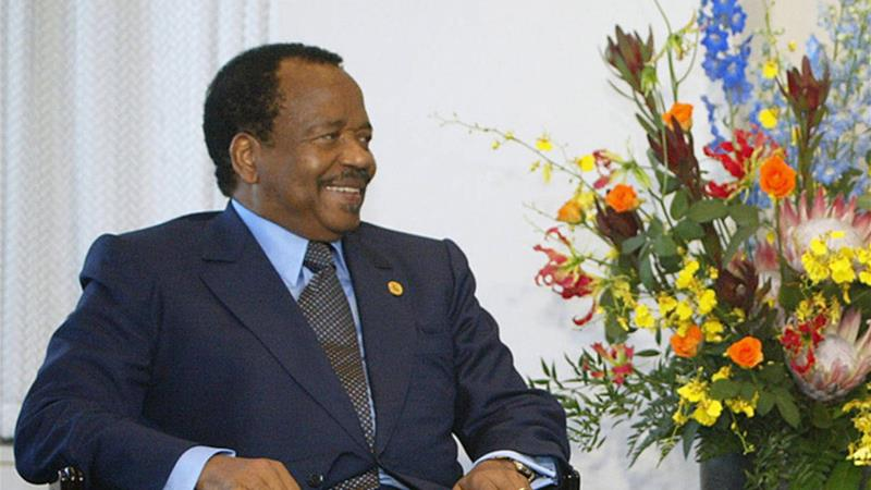 Cameroon President Paul Biya to stand for seventh term