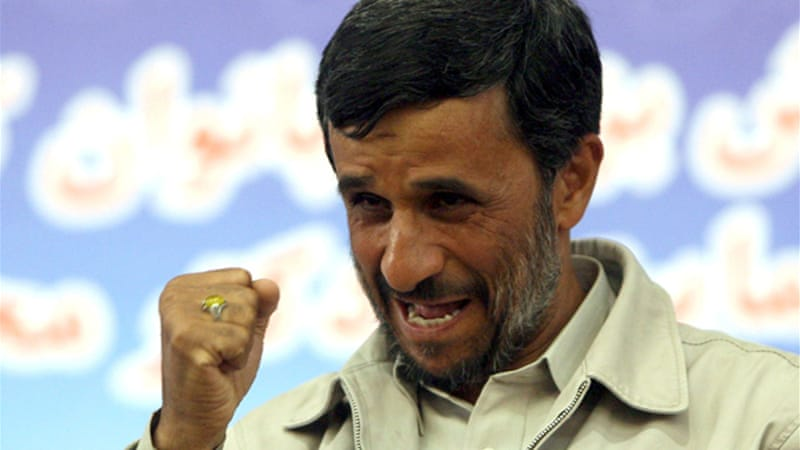 Iranian President Mahmoud Ahmadinejad has criticised US sanctions [EPA]