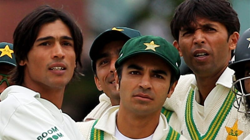 The 27-year-old disgraced former cricketer was involved in a plot to bowl deliberate no-balls in the Lord's Test against England in 2010, and was jailed along with teammates Mohammad Asif and Mohammad Amir [GALLO/GETTY]