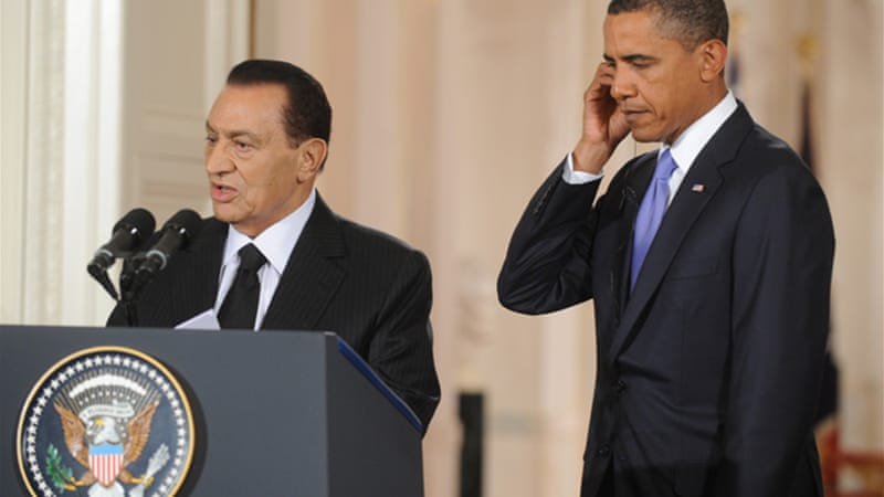 The US in Egypt: A fully hedged position