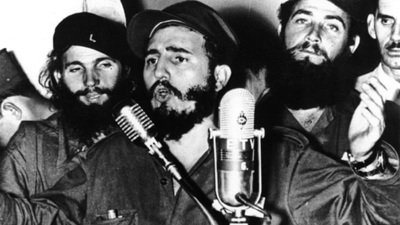 The US had long portrayed Castro's Cuba as an existential threat [Getty Images]