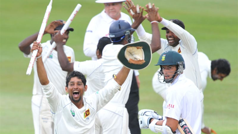Sri Lanka level series in South Africa | News | Al Jazeera