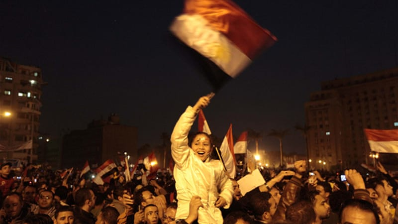 Protests in Egypt last year toppled a regime which provided little for its people [Reuters]