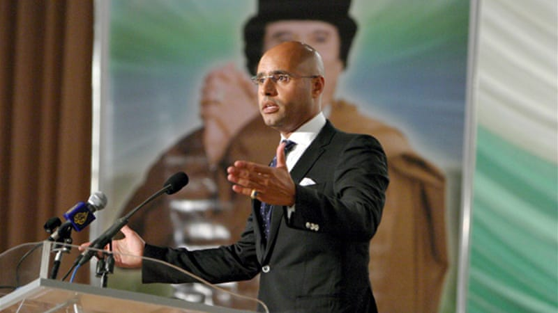 Libya wants to try Saif al-Islam in a domestic court, where he would face the death penalty if found guilty [EPA]