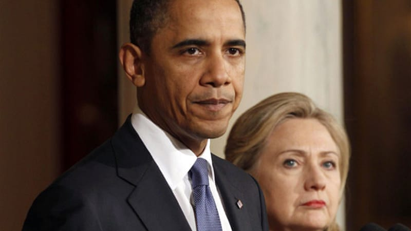 Syria episode in the book illustrates a key break between Clinton and Barack Obama [Reuters]