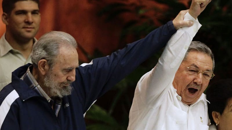 Castro handed power to his brother Raul Castro in 2008 [Reuters]