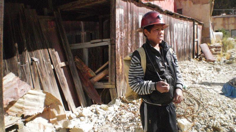 The teenage miners of Bolivia