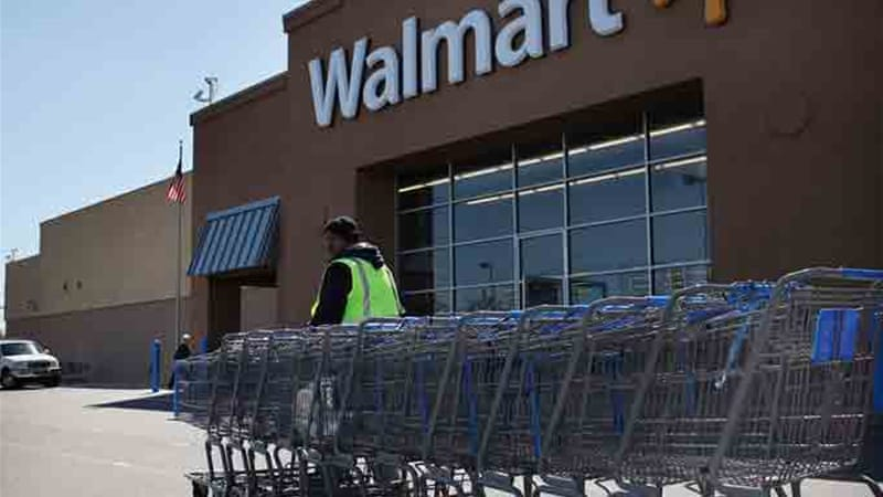 An internal investigation found $24m of suspect payments but Walmart silenced the information and failed to report it to authorities [GALLO/GETTY]