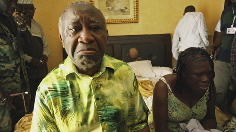 Gbagbo is facing charges at the ICC while his wife Simone remains under house arrest [Reuters]